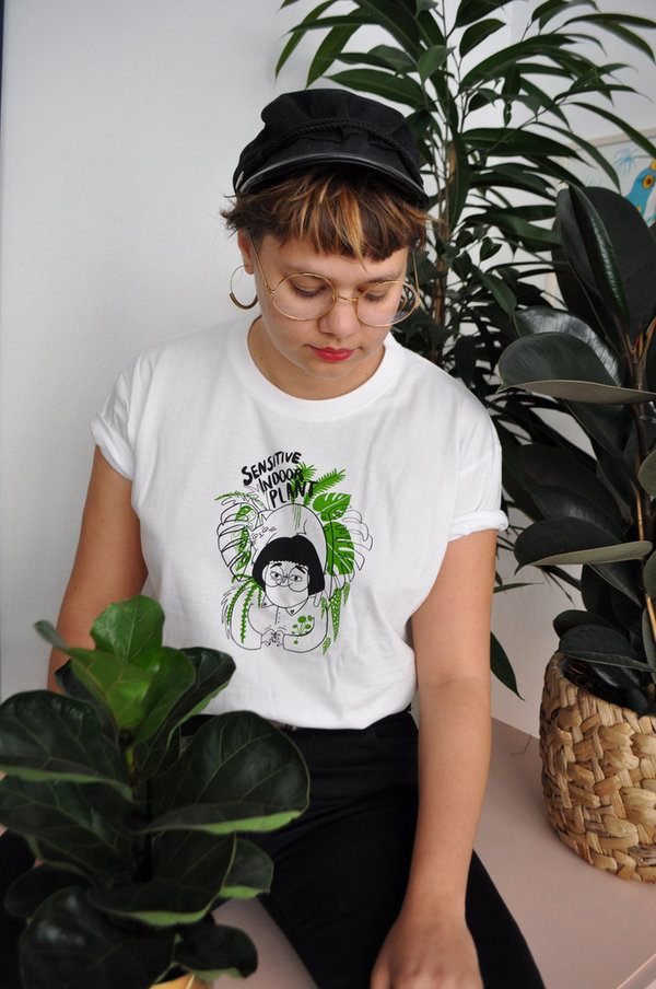 Sensitive Indoor Plant Tshirt